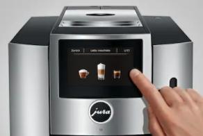 Bedienung der Kaffeemaschine